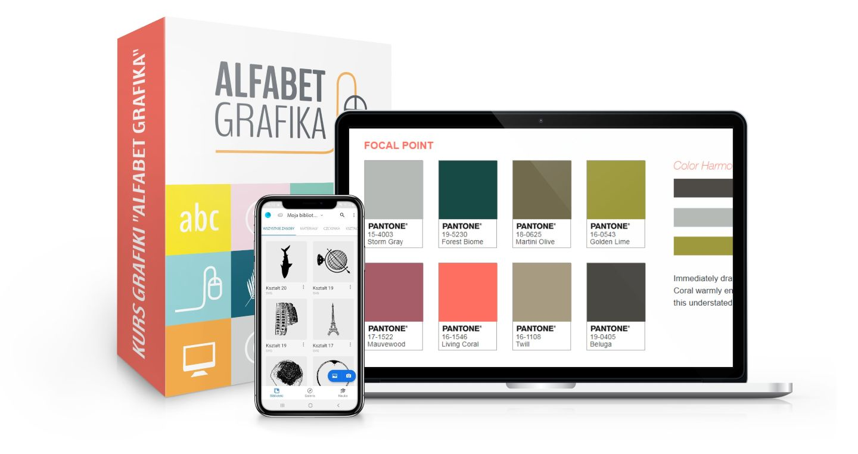 Kurs grafiki Alfabet Grafika - Od Kelnera Do Milionera